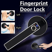 Biometric Lock Semiconductor Fingerprint Lock Smart Door Lock Stainless Steel Automatic Security Door Electronic Lock