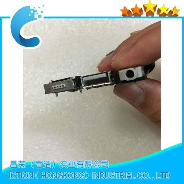 Original 820 3453 A DC Power Audio Jack USB I/O Board For MacBook Air 11 A1465 2013/2014