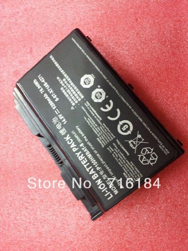 Батарея для Clevo P170EM P170HM P170HM3 SAGER NP8130 NP8150 NP8170 NP9130 NP9150 NP9170 6-87-X710S-4271