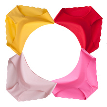 Специальные Оффе Дюпон Ткань ультратонкие Комфорт Нижнее Белье женщины Бесшовные Трусы для женщин розовый бесшовные Трусы женщин