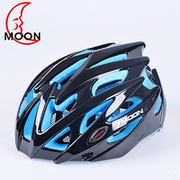 Moon Bike Helmets Insect Net Cycling Helmet Ultralight Integrally Molded Highway Road Mountain Bicycle Riding Helmet
