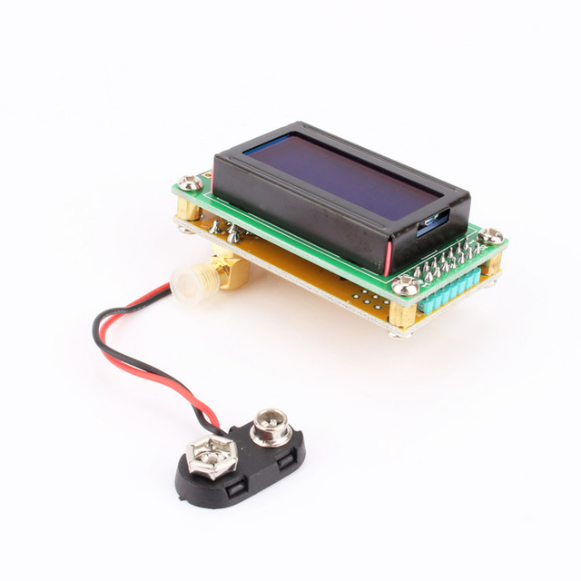 1 ~ 500 МГц Счетчик Частоты Тестер Измерения Метр Компактный Дизайн 0802 ЖК-Дисплей