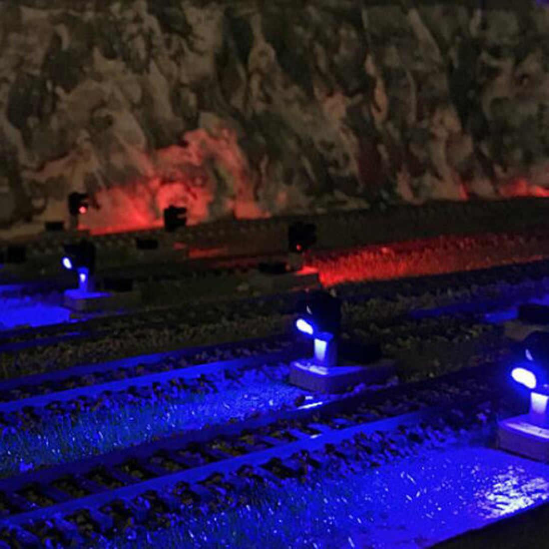 1: 87 kolei sygnał świetlny niskie lampka sygnalizacyjna dla skali HO piasek scena-biały + niebieski