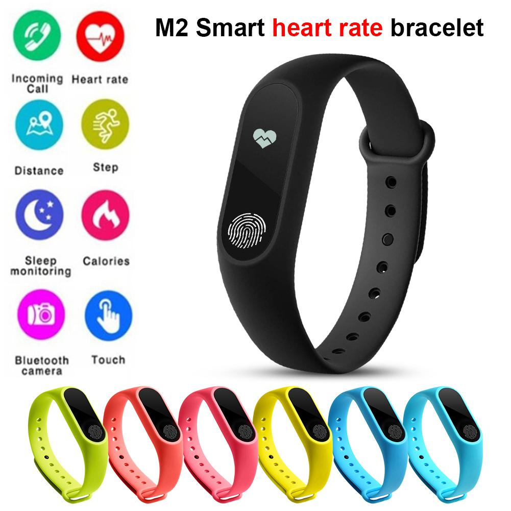 M2 Smart Band Color Screen Bracelet Fitness Tracker Step Counter Blood Pressure Reminder USB Rechargeable Smart WatchM2 Smart Band Color Screen Bracelet Fitness Tracker Step Counter Blood Pressure Reminder USB Rechargeable Smart Watch