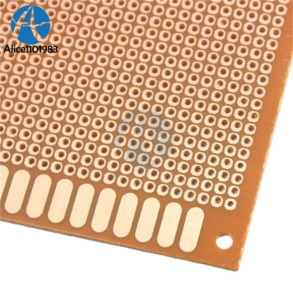 10x22cm 1022cm 10x22 Diy Bakelite Plate Paper Prototype Pcb Universal Experiment Matrix Circuit Board Single Sided Sheet Copper 10 X 22 In From