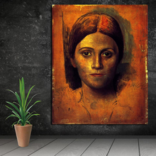 Pablo Picasso Classical Period Woman Canvas Painting Living Room Home Decoration Modern Wall Art Oil Posters Picture HD