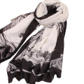 Two Horse Scarf Factory Direct Multiduty Sale Women's Scarves Foulard Femme Scarf Luxury Brand High Quality Women's Scarves