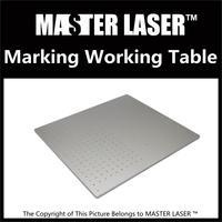 CO2 1064nm Fiber Laser Marking Engraving Machine 500 560 Portable Cabinet Working Table