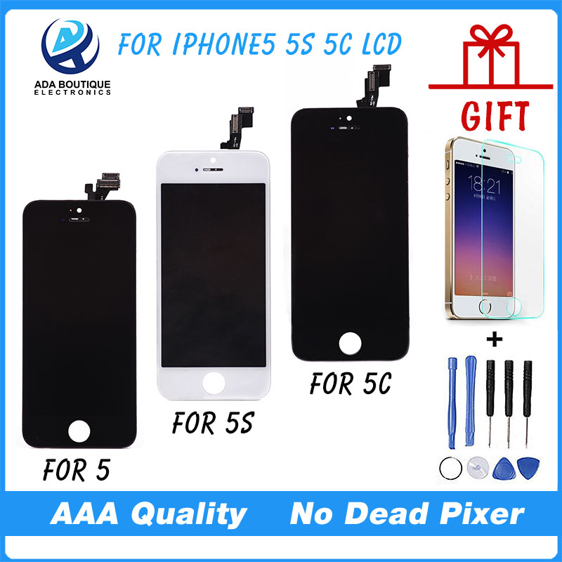 Best Quality Test AAA No Dead Pixel For iPhone 5 LCD Screen With Touch Screen 5S