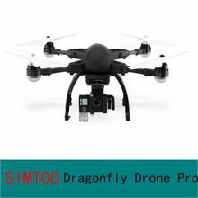 SIMTOO Dragonfly Drone Pro RTF 16MP 4K HD Camera WIFI FPV GPS Watch RTF Remote Controller