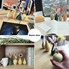 European Simple Ceramic vase yellow Porcelain vases small flower vase DIY Bottle wedding vases for table decorations home decor 3