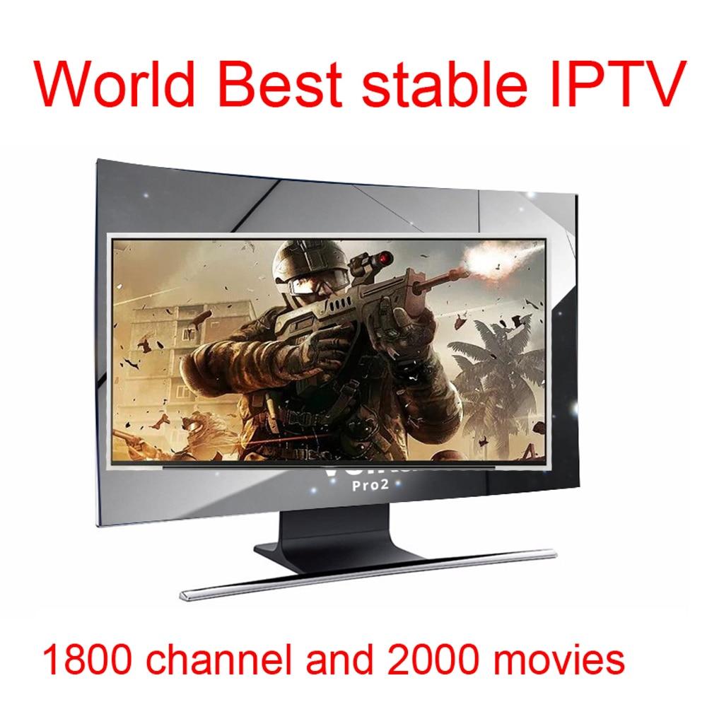 Android tv box VOLKA PRO Iptv Subscription french arabic