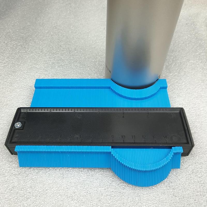 Image 5 - 5/6/10/20 Inch Plastic Profile Copy Gauge Contour Gauge Duplicator Standard Wood Marking Tool Tiling Laminate Tiles General Tool-in Gauges from Tools