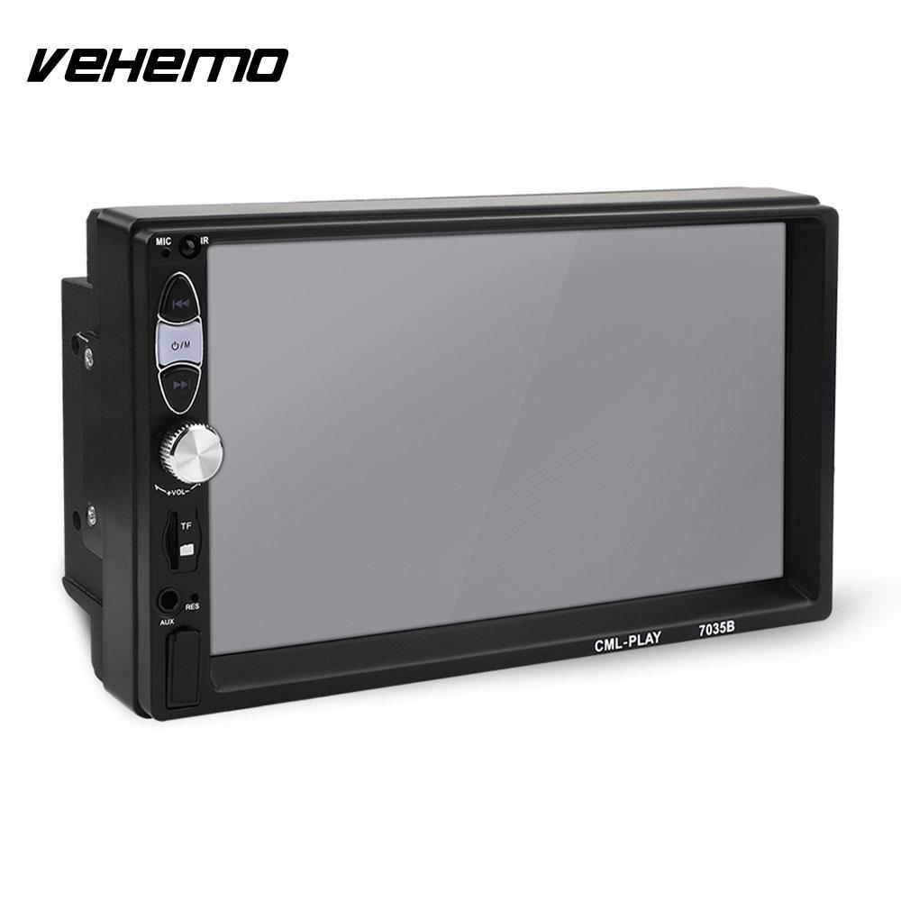 Vehemo FM/USB/AUX 7035B Flexible Smart Auto MP5 Player Radio Automotive MP5 Player Car Stereo Car MP5 Player Rear View цена