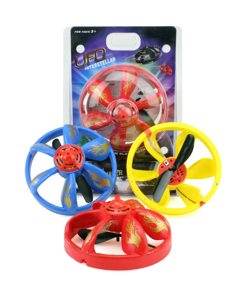 Magic UFO Infrared Sensor toys no remote control Flying Saucer Trick Hand Hover Flying Disk outdoor toy gift for children game ...