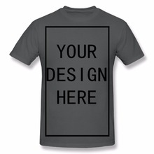 Custom Shirt Add Your Own Text Name Picture or Message on Personalized Men Red T-Shirt
