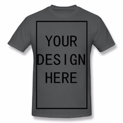 Custom Shirt Add Your Own Custom Text Name Picture or Message on Your Personalized Men Red T-Shirt