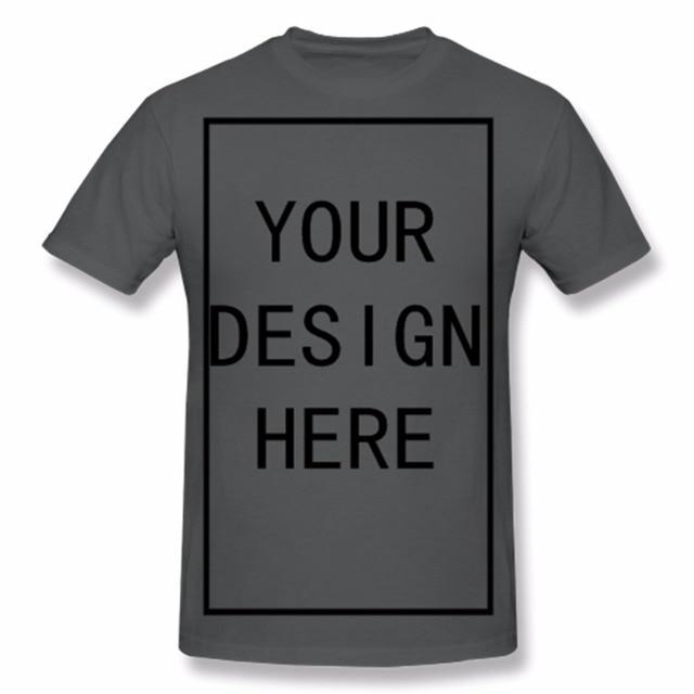 super populaire 69604 a8816 Personnalisé Chemise Ajouter Votre Propre Texte Personnalisé Nom Image ou  Message sur Votre Personnalisé Hommes Rouge T-Shirt