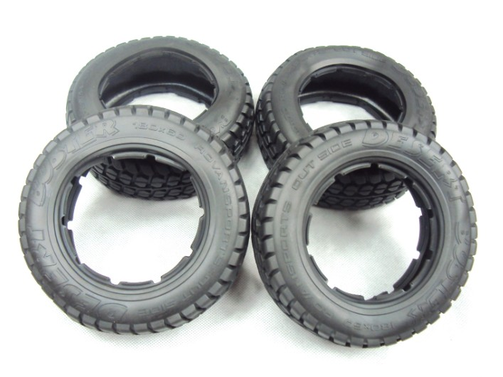 on road tyre front and rear road tire for 1/5 HPI KM RV BAJA 5T baja 5b ii front wheel off road tire assembly