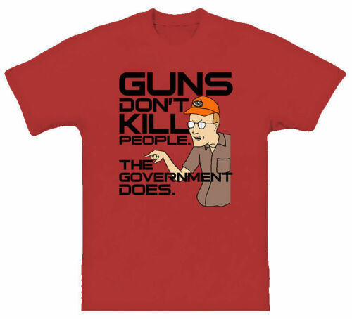 King of The Hill Dale Guns Tv Episodes T Shirt Design T Shirt Printing Tee Shirt for Men 2019 New Fashion T-Shirt image