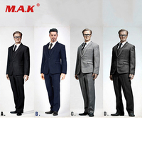 1/6 XING Series Standard Western style Male Clothing set with Waistcoat and Leather Shoes X26 For Narrow Shoulder Body Figures