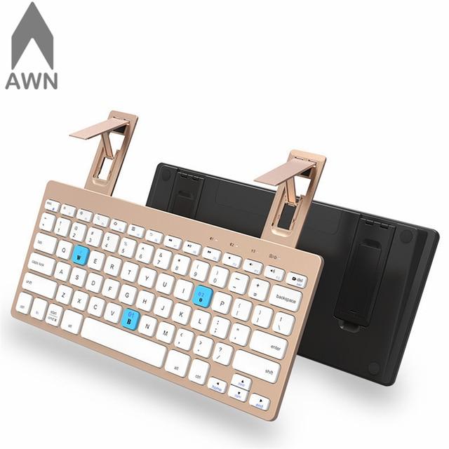 c4934d837fd Ultra Slim Keyboards bluetooth Keyboard Scissors Feet table Keypad ipad  keyboard with support for Windows 8 7 10 Vista TV Box