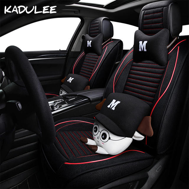 Aliexpresscom Buy KADULEE Flax Auto Car Seat Cover For Nissan - Alfa romeo seat covers