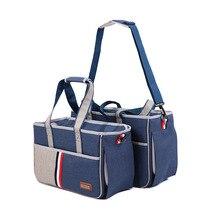 DannyKarl Pink Portable Slings Pet Bag Dog Carrier Bags Blue Outgoing Travel Breathable Handbag Out