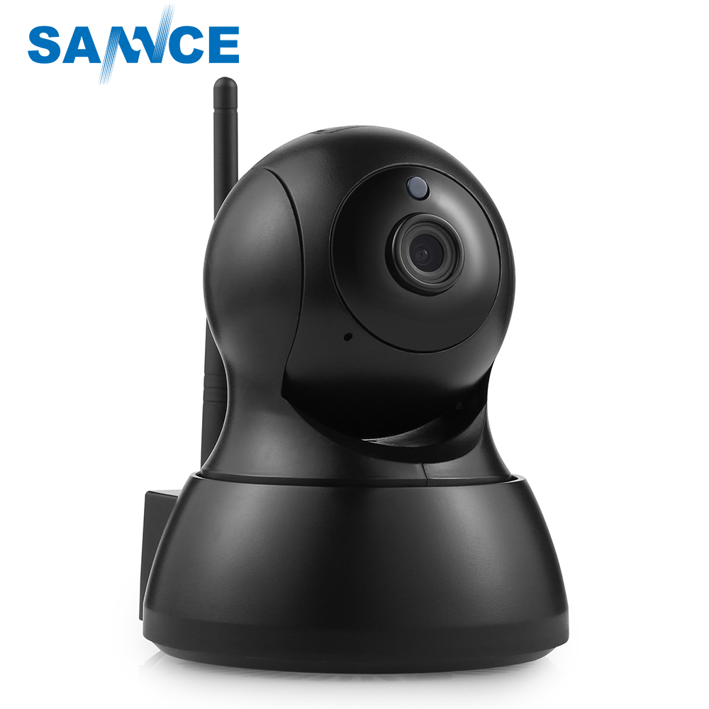 2018 New 720P CCTV Smart IP Camera Wifi PTZ Security Baby Monitor IR Night Vision Two Way Audio Surveillance Wireless IP Camera sannce 720p hd smart wireless ip camera 1 0mp two way audio ir night vision wifi ptz camera cctv home security baby monitor