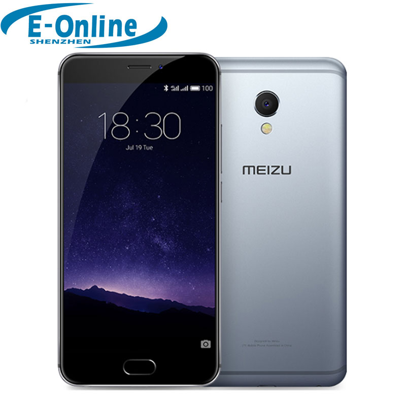 "Original Meizu MX6 MX 6 MTK Helio X20 Deca Core Mobile Phone 5.5"" 4GB RAM 32GB ROM 1920x1080 IMX386 12MP Camera"