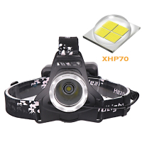 head lamp xhp70 Power Bank headlamp18650 head flashlight outdoor camp waterproof spotlight hunting head torch usb bike headlight