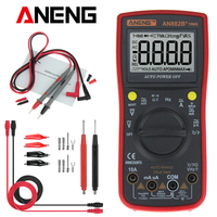 ANENG AN882B+ True RMS Digital Multimeter Auto Range AC/DC Digital Universal Meter With 6000 Counts LCD Temperature Measurement