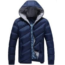 Hot Winter Jacket Men Thick Warm Hooded Warm Coat Mens Windbreaker Outwear Parkas jaqueta masculina male casaco Parka Jackets