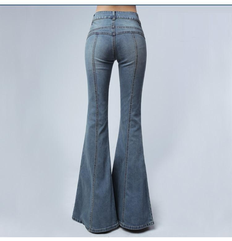 Винтажные джинсы для женщин в стиле бойфренд Высокая талия Повседневный стиль бархатные дамские брюки зимние теплые джинсы для мам размера... - 3