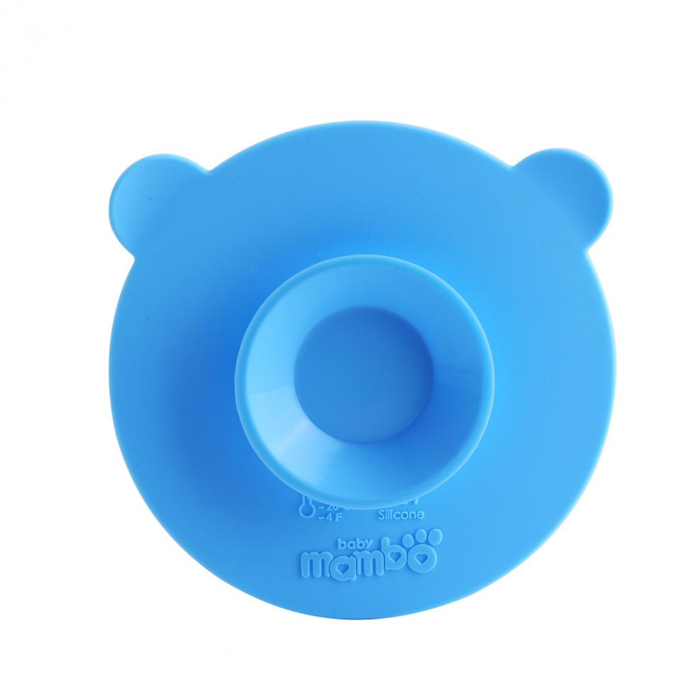 Mambobaby Silicone Child Tableware Non-slip Bowl Suction Pad Baby Plate Bowl Magic Multifunctional Chuck Baby Tableware Sucker