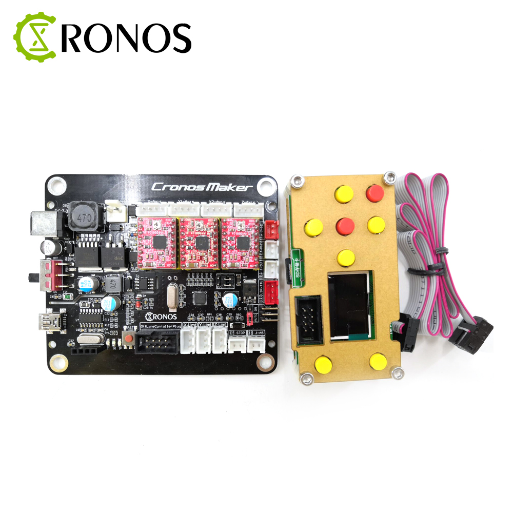GRBL 0.9 or 1.1 Controller Control Board 3Axis Stepper Motor With Offline Double Y Axis USB Driver Board For CNC Laser EngraverGRBL 0.9 or 1.1 Controller Control Board 3Axis Stepper Motor With Offline Double Y Axis USB Driver Board For CNC Laser Engraver