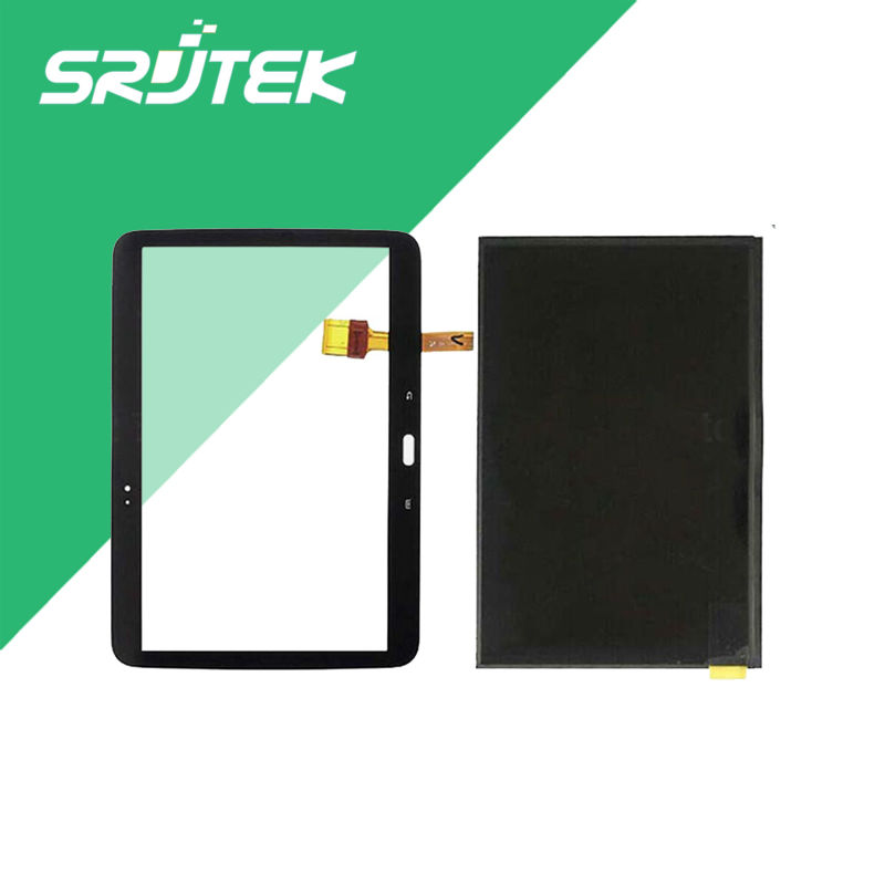 New 10.1'' For Samsung Galaxy Tab 3 10.1 P5200 P5210 LCD Display Monitor+Touch Screen Digitizer Glass Sensor Replacement Parts brand new 30pcs wholesale price for samsung galaxy s7 edge g935 g9350 g935f g935fd lcd display touch screen free dhl 3 color