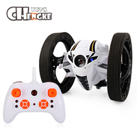 2018 Hot Mini Bounce RC Cars 2 4GHz Strong Jumping RC Car With Flexible Wheels Remote