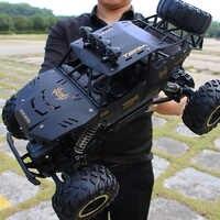 XYCQ RC Car 4WD 2,4 GHz coche de escalada 4x4 Doble motores Pie Grande coche modelo de Control remoto apagado- vehículo de juguete