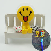 1 Pcs Cute Smiling Face QQ Expression Toothbrush Holder Toothpaste Whitening Teeth Whitening Toothpaste Oral Hygiene Toothpaste(China)