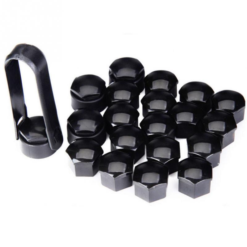 20pcs Bolt Wheel Hub Covers Dust-Proof Anti-theft Cap Car Nut Durable