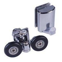 Набор из 2 роликов для душевой двери/полозья/Крючки/направляющие 25 мм колеса диаметр 904h/106