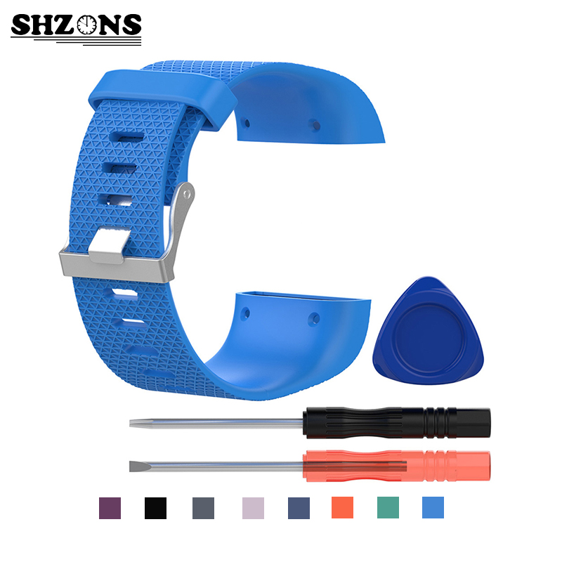 Silicone Replacement Watch Wrist Strap Band For Fitbit Surge band Silicone bands venda de reloj Bandas banda Smart Accessories