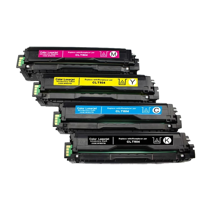 Color toner laserjet printer laser cartridge for Samsung CLT K504S 504 CLP 415 470 475 CLX 4195 4170