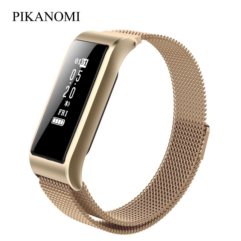 Fashion Women Smart Wristbands B29 IP67 Waterproof Smart Bracelet Heart Rate Monitor Fitness Tracker Bracelet For IOS Android