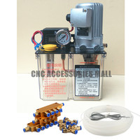 Full Set 3L 3 Liters 220V Grease Lubricating Oil Pump Cnc Electric Digital Lubrication Pump With