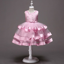 Christmas Girls Dress For Evening Prom Party Costume Girls Kids Clothes Wedding Birthday Gown Little Girl Red G501 christening dress for teen girls prom gown kids performance costume girl dress for christmas party wedding long tutu kid outfit
