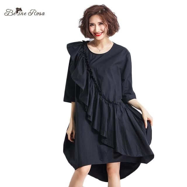 Belinerosa Large Size Women Clothing Ruffled Designer Style Women