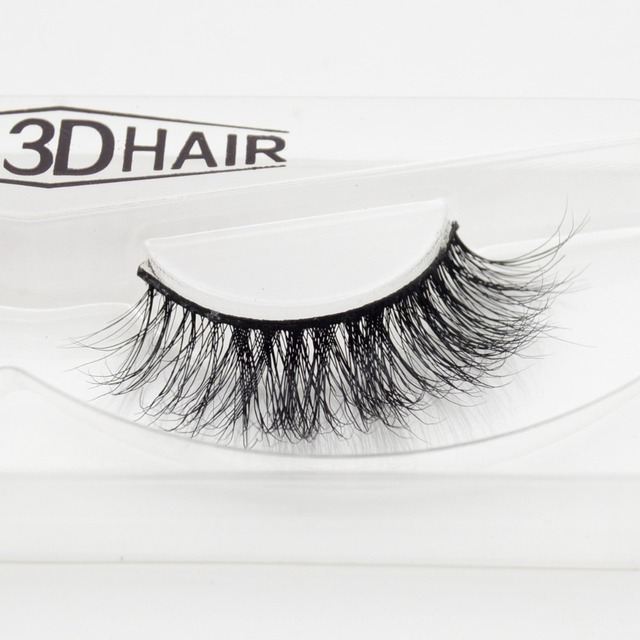 80dfa682936 visofree 1 pair 3d mink lashes wholesale 100% real mink fur Handmade  crossing lashes individual