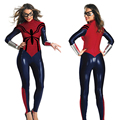 Adult Spider-Man Costume Woman Superhero Cosplay Roleplay Costume Halloween Costume Fress Size Faux Leather High Quality Suit
